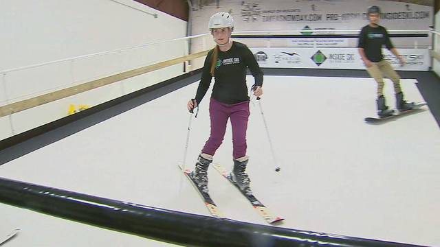 Fox5dc visits Inside Ski Center with evening broadcast and video